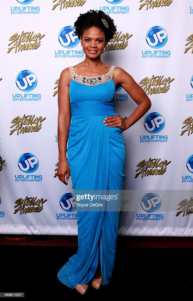 <a gi-track='captionPersonalityLinkClicked' href=/galleries/search?phrase=Kimberly+Elise&family=editorial&specificpeople=211117 ng-click='$event.stopPropagation()'>Kimberly Elise</a> backstage at the 2014 Stellar Awards at the 2014 Stellar Awards at Nashville Municipal Auditorium on January 18, 2014 in Nashville, Tennessee.