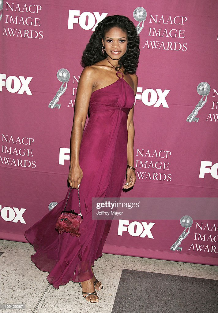 Kimberly Elise during The 36th Annual NAACP Image Awards - Arrivals at Dorothy Chandler Pavilion in Los Angeles, California, United States.