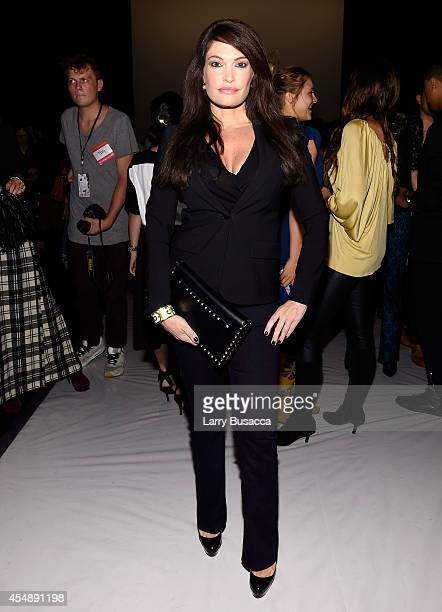 Kimberly Guilfoyle attends the Vivienne Tam fashion show during MercedesBenz Fashion Week Spring 2015 at The Theatre at Lincoln Center on September 7...