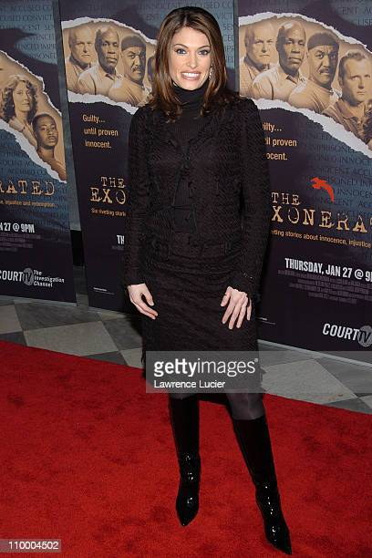 Kimberly Guilfoyle Newsom during Court TV's Original Movie The Exonerated New York City Premiere at Museum of Television and Radio in New York City...
