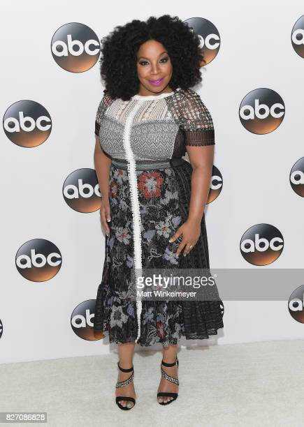 Kimberly Hebert Gregory attends the 2017 Summer TCA Tour Disney ABC Television Group at The Beverly Hilton Hotel on August 6 2017 in Beverly Hills...