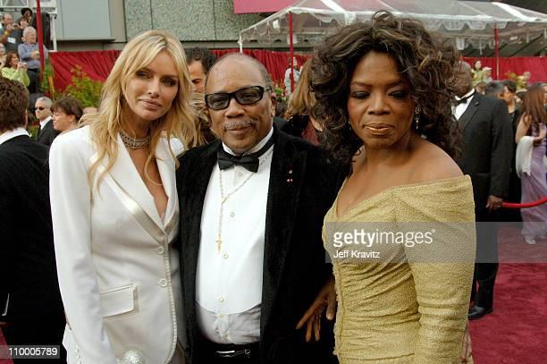 Kimberly Hefner Quincy Jones and Oprah Winfrey