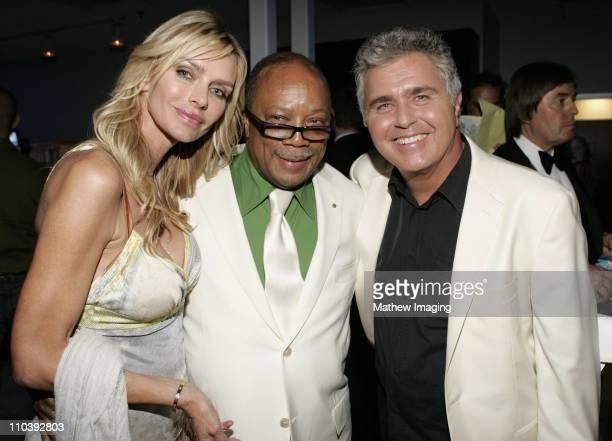 Kimberly Hefner Quincy Jones and Steve Tyrell*exclusive*