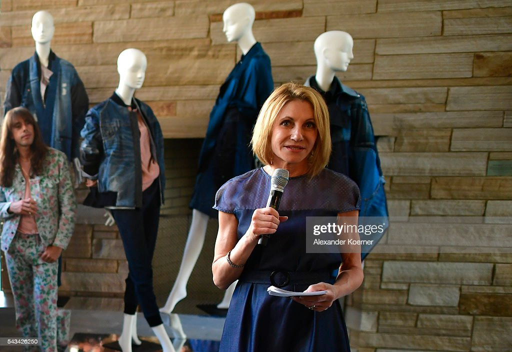 Kimberly Marteau Emerson at the Sustainability & Style event at the Embassy of The United States of America on June 28, 2016 in Berlin, Germany.