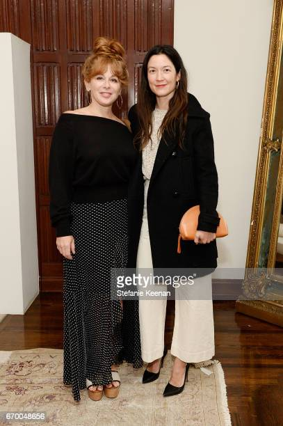 Kimberly Muller and Naomi Nelson attend Tania Fares and Rosetta Getty Together with Eric Buterbaugh Gia Coppola Jacqui Getty Irena Medavoy Jennifer...