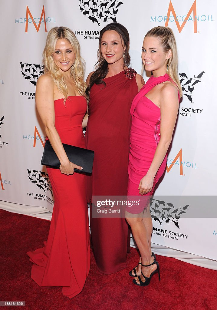 Kimberly Ovitz, Georgina Bloomberg and Amanda Hearst attend