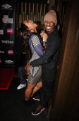 Kimberly 'Paigion' Walker and Shorty Da Prince attend the 'Real Husbands Of Hollywood' 'Second Generation Wayans' screening after party at 40 / 40...