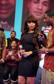 Kimberly 'Paigion' Walker and Shorty Da Prince host BET's '106 Park' at BET Studios on February 14 2013 in New York City