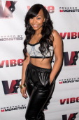 Kimberly Paigion Walker attends the VIBE 20th Anniversary celebration at No 8 on August 23 2013 in New York City