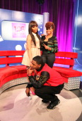 Kimberly 'Paigion' Walker Ms Mykie and Shorty Da Prince host BET's '106 And Park' at 106 Park Studio on December 3 2012 in New York City