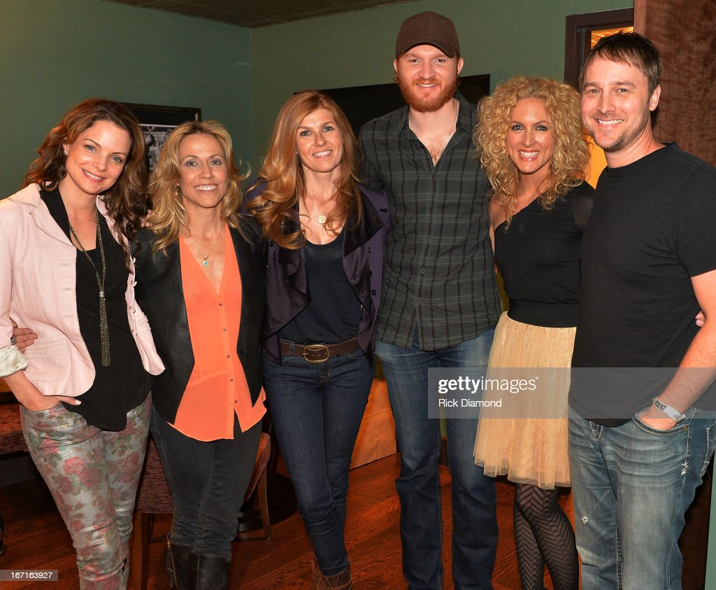 Kimberly Paisley (TV's Nashville), <a gi-track='captionPersonalityLinkClicked' href=/galleries/search?phrase=Sheryl+Crow&family=editorial&specificpeople=201867 ng-click='$event.stopPropagation()'>Sheryl Crow</a>, <a gi-track='captionPersonalityLinkClicked' href=/galleries/search?phrase=Connie+Britton&family=editorial&specificpeople=234699 ng-click='$event.stopPropagation()'>Connie Britton</a> (TV's Nashville), Singer/Songwriter <a gi-track='captionPersonalityLinkClicked' href=/galleries/search?phrase=Eric+Paslay&family=editorial&specificpeople=7334593 ng-click='$event.stopPropagation()'>Eric Paslay</a>, Kimberly Schlapman (Little Big Town) and BeBo Norman - Recording Artist backstage at 'An Evening with <a gi-track='captionPersonalityLinkClicked' href=/galleries/search?phrase=Sheryl+Crow&family=editorial&specificpeople=201867 ng-click='$event.stopPropagation()'>Sheryl Crow</a>' to benefit New Hope Academy at The Franklin Theater on April 21, 2013 in Franklin, Tennessee.