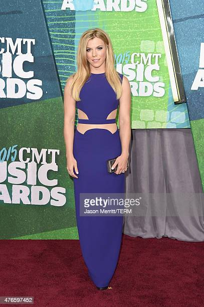 Kimberly Perry attends the 2015 CMT Music awards at the Bridgestone Arena on June 10 2015 in Nashville Tennessee