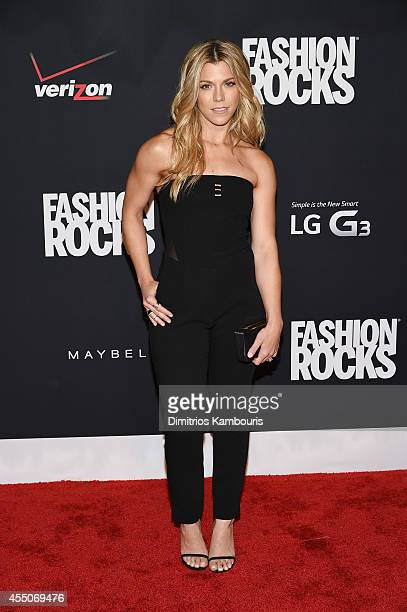 Kimberly Perry from The Band Perry attends Fashion Rocks 2014 presented by Three Lions Entertainment at the Barclays Center of Brooklyn on September...