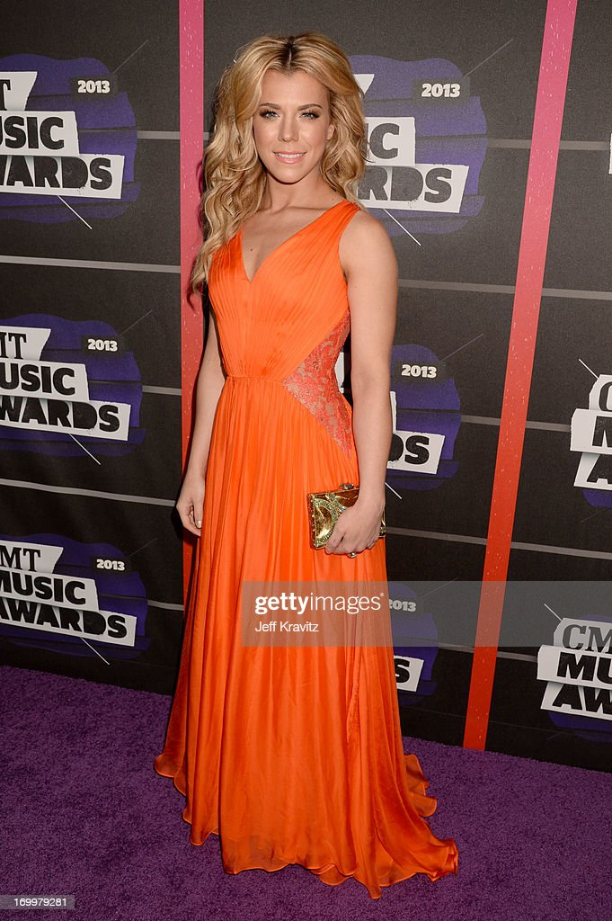 Kimberly Perry of The Band Perry arrives at the 2013 CMT Music Awards at the Bridgestone Arena on June 5, 2013 in Nashville, Tennessee.