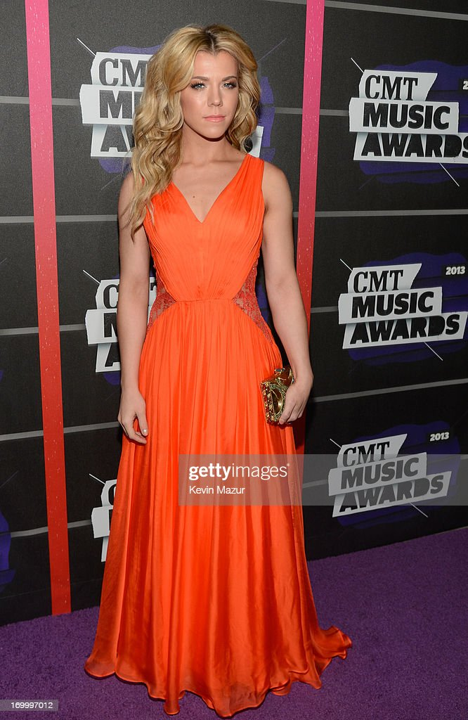 Kimberly Perry of The Band Perry attends the 2013 CMT Music awards at the Bridgestone Arena on June 5, 2013 in Nashville, Tennessee.