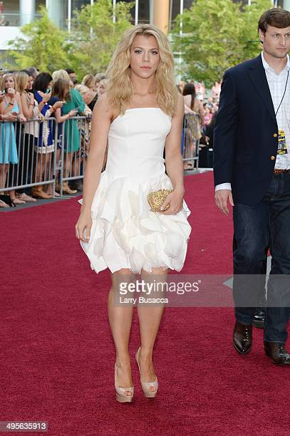 Kimberly Perry of The Band Perry attends the 2014 CMT Music awards at the Bridgestone Arena on June 4 2014 in Nashville Tennessee