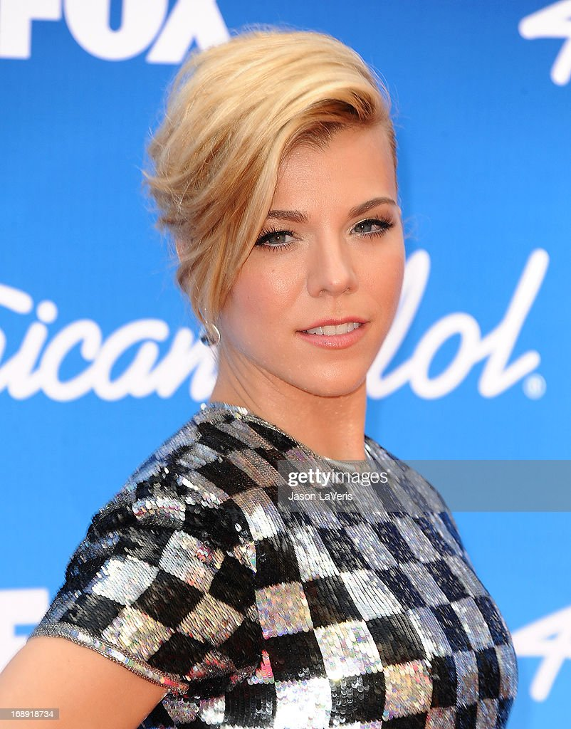 Kimberly Perry of The Band Perry attends the American Idol 2013 finale at Nokia Theatre L.A. Live on May 16, 2013 in Los Angeles, California.