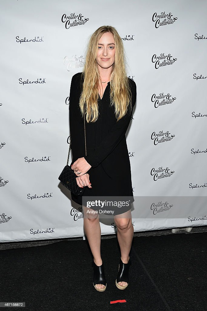 Kimberly Pesch attends the Create & Cultivate's Speaker Celebration at The Line Hotel on March 20, 2015 in Los Angeles, California.