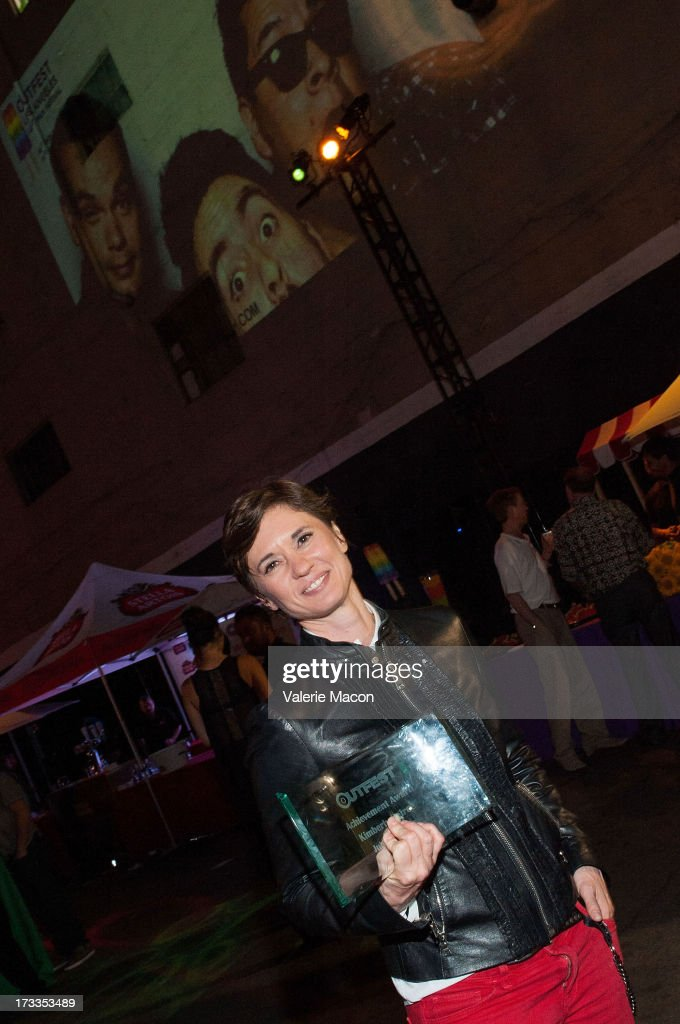 Kimberly Pierce attends the 2013 Outfest Opening Night Gala Of 'C.O.G.' After Party at on July 11, 2013 in Los Angeles, California.