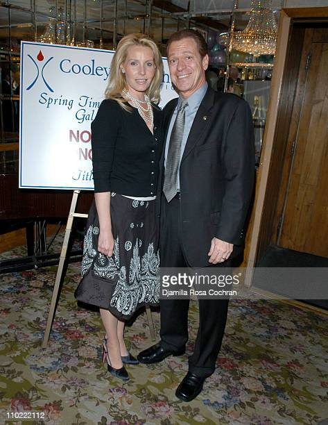 Kimberly Piscopo and Joe Piscopo during Cooley's Anemia Foundation's 2nd Annual Gala at Tavern on the Green in New York City New York United States