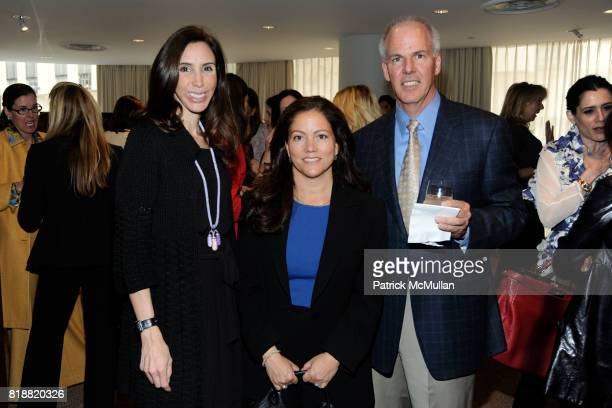 Kimberly Putzer Kim Donaldson and Flint Decker attend Christie's Lunch to Preview Picassos From The May Sales hosted by Alan J Fuerstman of Montage...