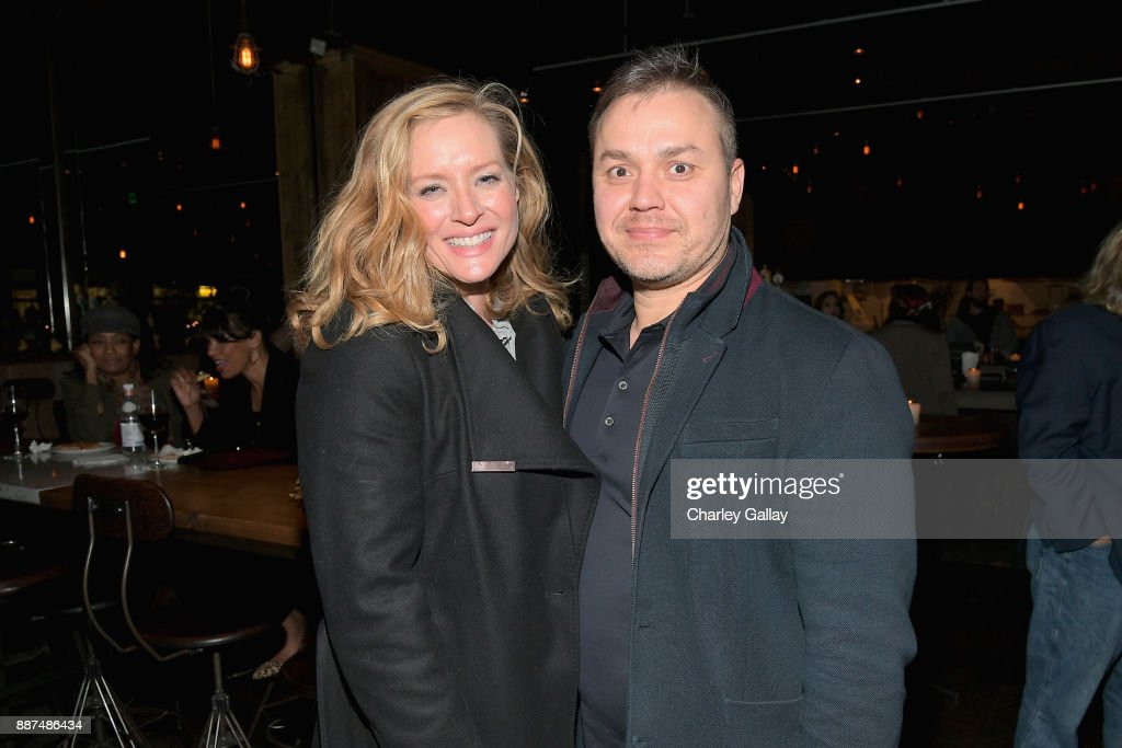 Kimberly Quinn (L) and Theodore Melfi attend the after party for Special Screening Of Netflix Films' 'El Camino Christmas' at ArcLight Cinemas on December 6, 2017 in Hollywood, California.