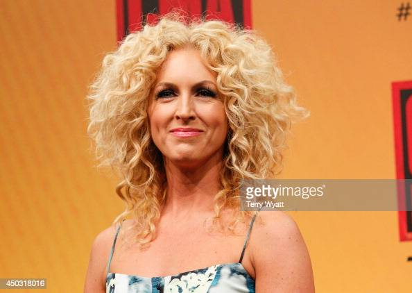 Kimberly Schlapman of Little Big Town attends the 2014 CMA Festival on June 8 2014 in Nashville Tennessee