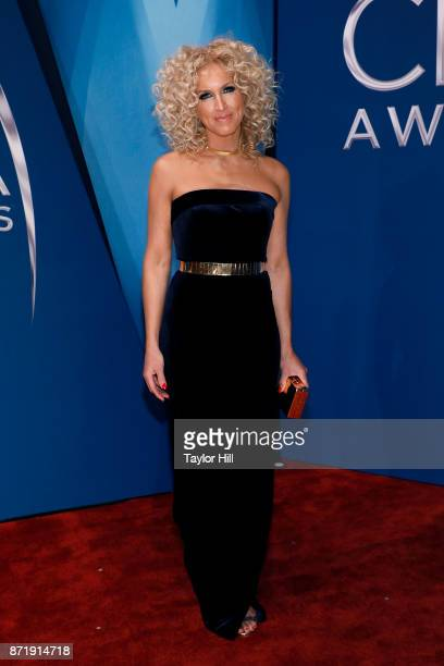 Kimberly Schlapman of Little Big Town attends the 51st annual CMA Awards at the Bridgestone Arena on November 8 2017 in Nashville Tennessee