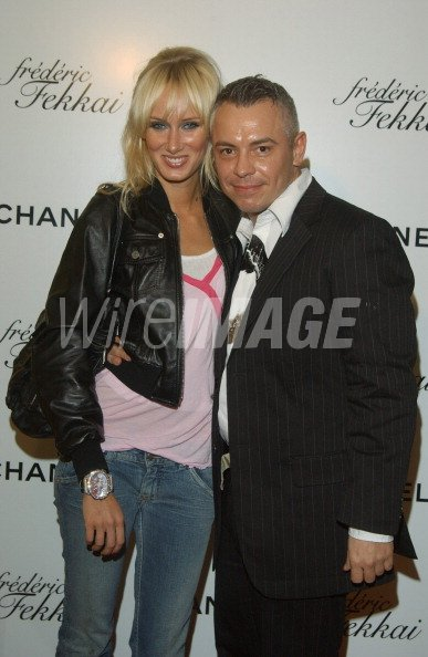 Kimberly Stewart and John Fussell, Chanel makeup artist ***Exclusive*** (Photo by Amy Graves/WireImage for Full Picture - Los Angeles)