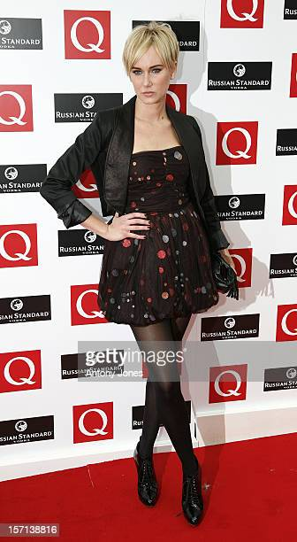 Kimberly Stewart Arrives For The 2008 Q Awards At The Grosvenor House Hotel Park Lane In Central London