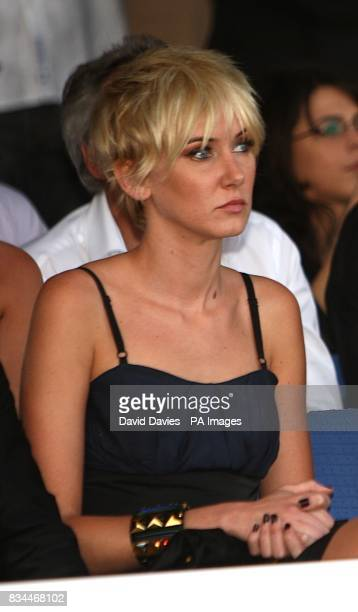 Kimberly Stewart at the Grand Prix and Fashion Unite at The Amber Lounge Le Meridien Beach Plaza Hotel Monaco