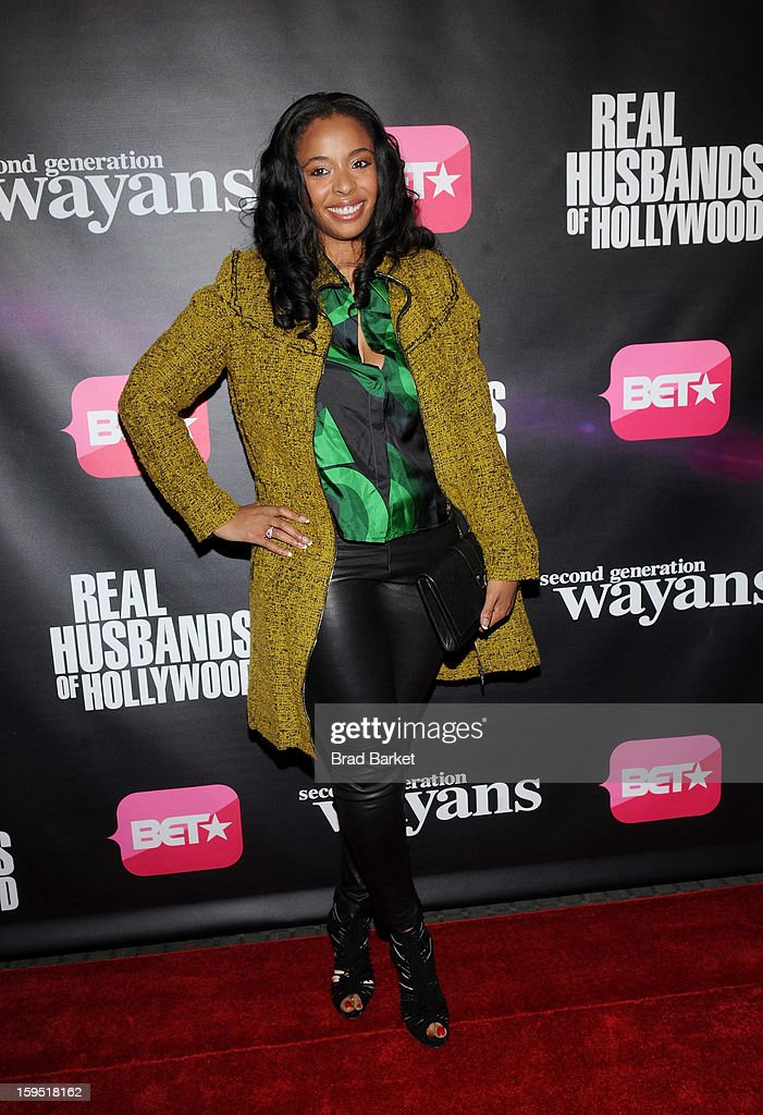 Kimberly Stewart attends BET Networks New York Premiere Of 'Real Husbands of Hollywood' And 'Second Generation Wayans' at SVA Theater on January 14, 2013 in New York City.