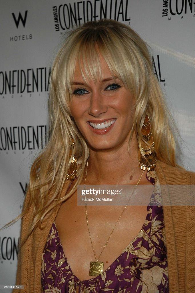 Kimberly Stewart attends Los Angeles Confidential Magazine Pre Oscar Bash Celebrates Cover Boy Jamie Foxx sponsored by Godiva at the W Hotel Los...