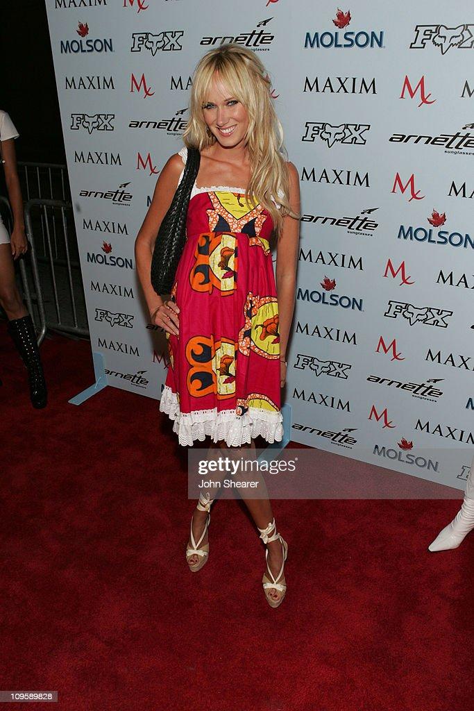 Kimberly Stewart during Maxim Magazine Celebrates The 2005 X-Games at Cabana Club in Los Angeles, California, United States.
