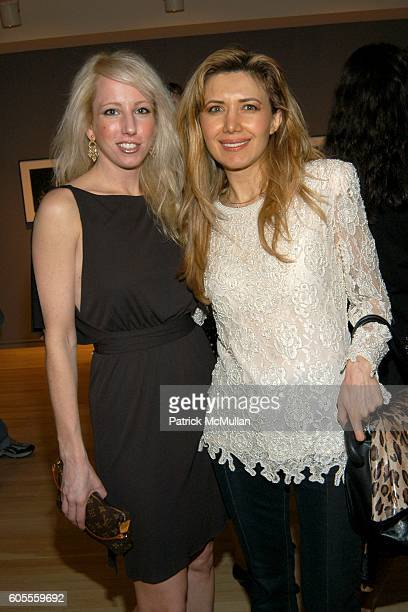 Kimberly Thomsen and Valentina attend Karl Lagerfeld FAREWELL TO DAYLIGHT Photo Exhibition at Pace/McGill Gallery on May 18 2006 in New York City