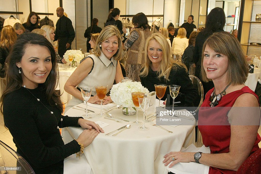 Kimberly Whitman, Jamee Gregory, Myrna Schlegel and Bard Durham attend the Jamee Gregory Book Signing Event at Chanel Boutique Dallas on December 2, 2010 in Dallas, Texas.