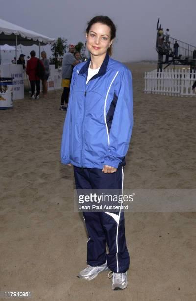 Kimberly Williams during 16th Annual Nautica Malibu Triathlon to Benefit the Elizabeth Glaser Pediatric AIDS Foundation at Zuma Beach in Malibu...