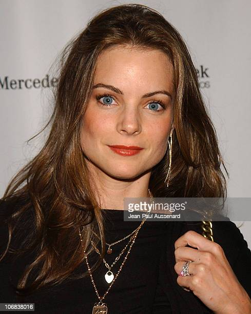 Kimberly Williams during MercedesBenz Spring 2006 LA Fashion Week at Smashbox Studios Day 3 Arrivals at Smashbox Studios in Culver City California...