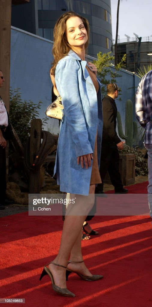 Kimberly Williams during 'Open Range' Premiere - Red Carpet at Arclight Cinerama Dome in Los Angeles, California, United States.