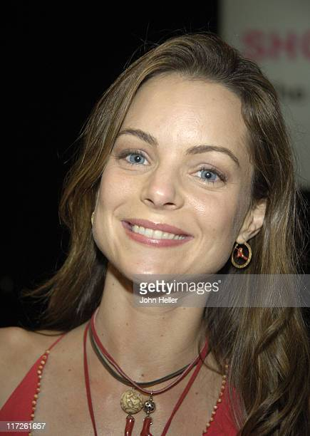Kimberly Williams during Ryan Seacrest and Tisha CampbellMartin to Receive Divine Design Man and Woman of Style Awards at Barker Hanger Santa Monica...
