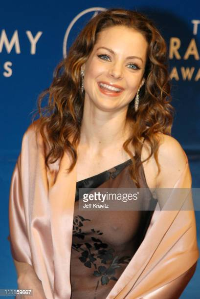 Kimberly Williams during The 45th Annual GRAMMY Awards Arrivals at Madison Square Garden in New York NY United States