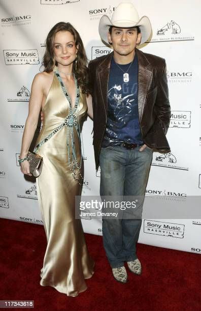 Kimberly WilliamsPaisley and Brad Paisley during The 39th Annual CMA Awards SONY BMG After Party Red Carpet at Gotham Hall in New York City New York...