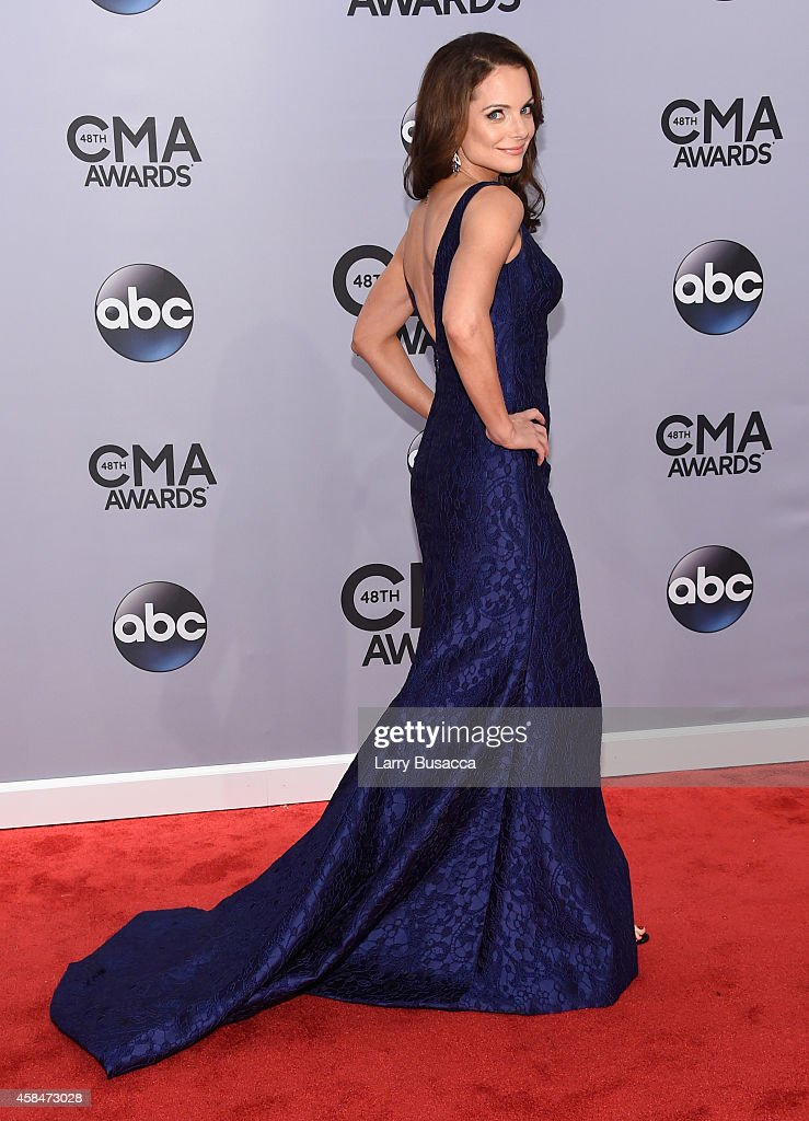 <a gi-track='captionPersonalityLinkClicked' href=/galleries/search?phrase=Kimberly+Williams-Paisley&family=editorial&specificpeople=208903 ng-click='$event.stopPropagation()'>Kimberly Williams-Paisley</a> attends the 48th annual CMA Awards at the Bridgestone Arena on November 5, 2014 in Nashville, Tennessee.