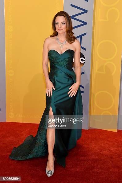 Kimberly WilliamsPaisley attends the 50th annual CMA Awards at the Bridgestone Arena on November 2 2016 in Nashville Tennessee