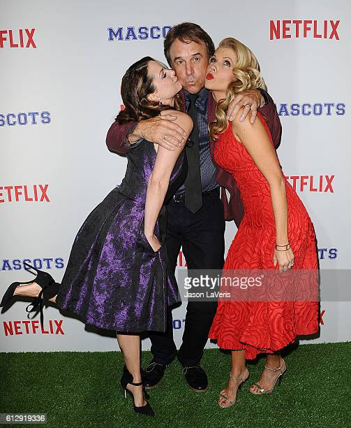 Kimberly WilliamsPaisley Kevin Nealon and Susan Yeagley attend a screening of 'Mascots' at Linwood Dunn Theater on October 5 2016 in Los Angeles...