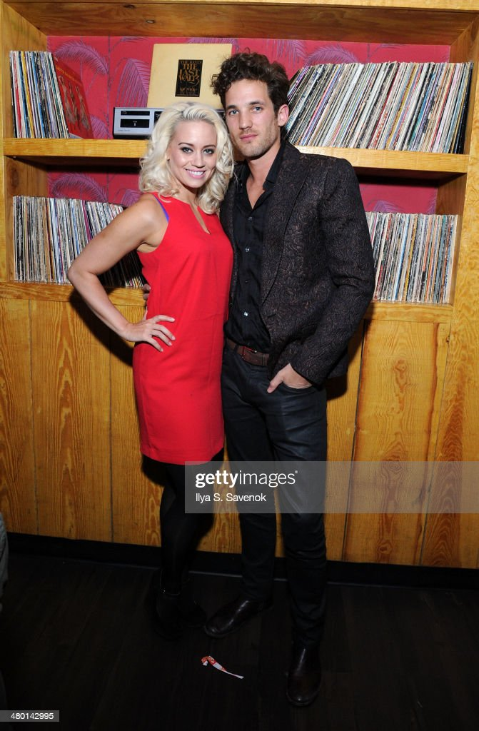 <a gi-track='captionPersonalityLinkClicked' href=/galleries/search?phrase=Kimberly+Wyatt&family=editorial&specificpeople=678958 ng-click='$event.stopPropagation()'>Kimberly Wyatt</a> and Max Rogers attend 2nd Supermodel Saturday at No.8 on March 22, 2014 in New York City.