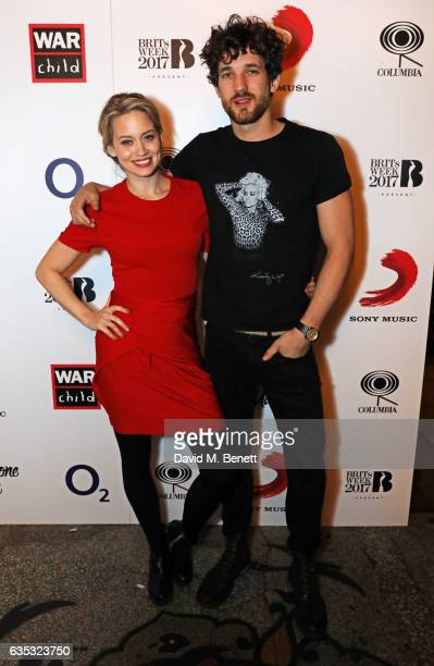 Kimberly Wyatt and Max Rogers attend the Rag'n'Bone Man show as part of War Child BRITs Week together with O2 to support children affected by war at...