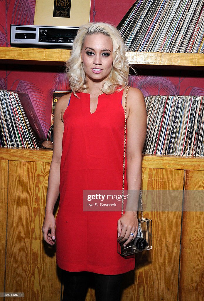 <a gi-track='captionPersonalityLinkClicked' href=/galleries/search?phrase=Kimberly+Wyatt&family=editorial&specificpeople=678958 ng-click='$event.stopPropagation()'>Kimberly Wyatt</a> attends 2nd Supermodel Saturday at No.8 on March 22, 2014 in New York City.