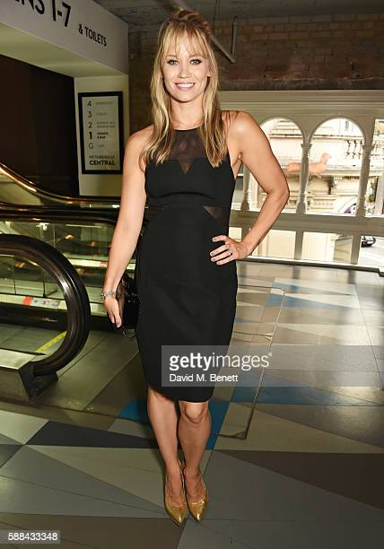 Kimberly Wyatt attends a special screening of 'War Dogs' at Picturehouse Central on August 11 2016 in London England