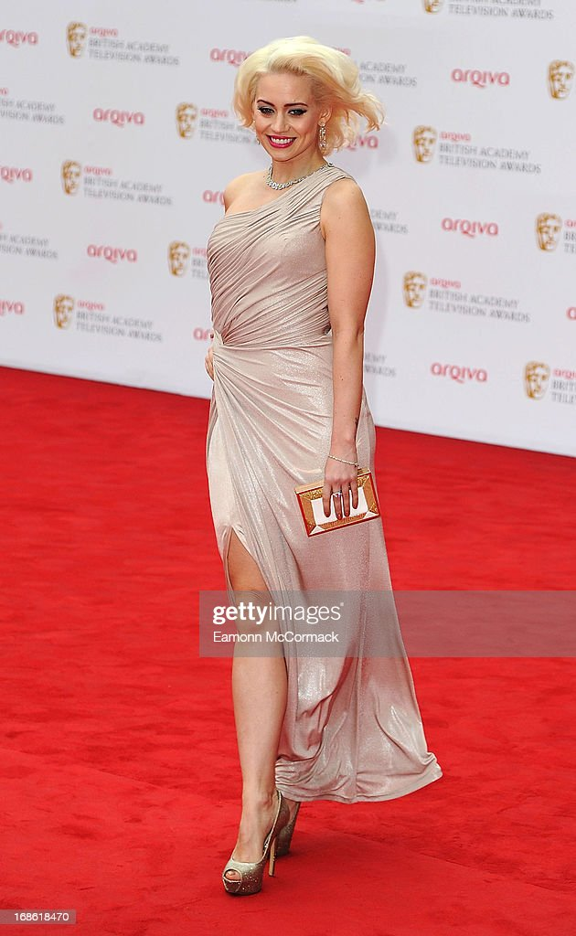 Kimberly Wyatt attends the Arqiva British Academy Television Awards 2013 at the Royal Festival Hall on May 12, 2013 in London, England.